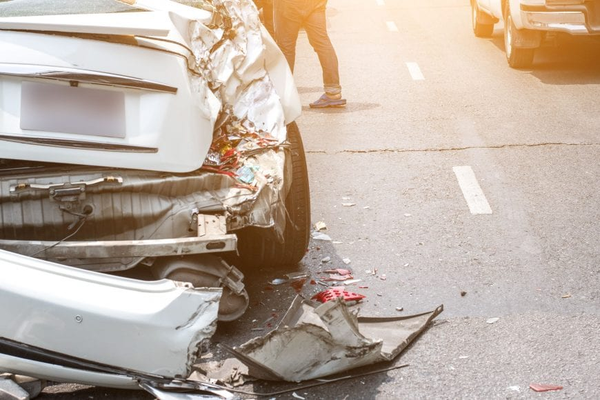 How to get help after a standard auto wreck?